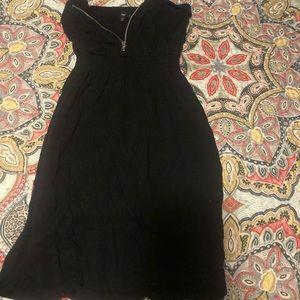 Half zip dress